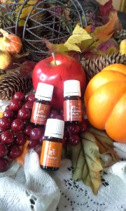 The fragrance of Fall in a bottle - three actually.  And they don't just smell great!  :-)