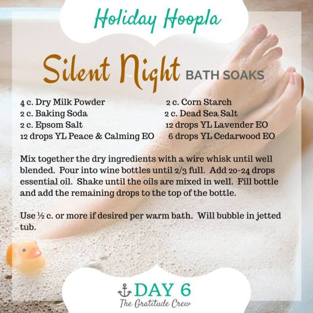 06 Silent Night Bath Soak