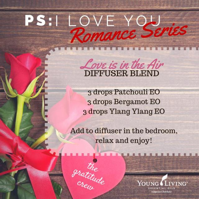 Love is in the Air Diffuser Blend - Romance